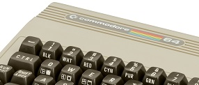 Photo of a Commodore C64